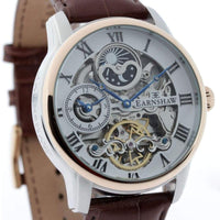 Earnshaw Longitude Automatic Leather Mens Watch - ES-8006-08