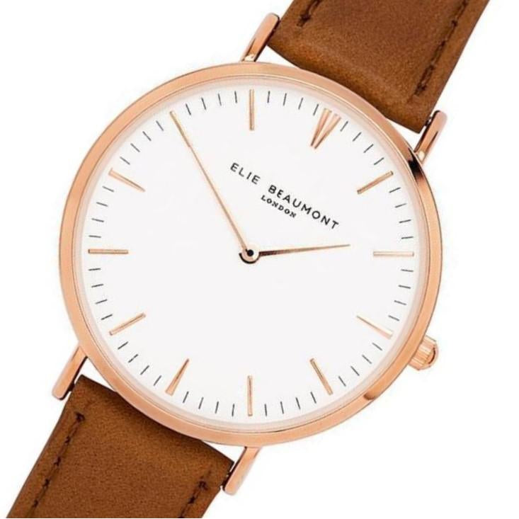 Elie Beaumont Ladies Oxford Watch - Large - EB805G.1