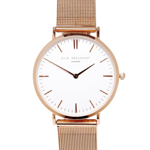 Elie Beaumont Ladies Oxford Watch - Large - EB805GM.1-The Watch Factory Australia