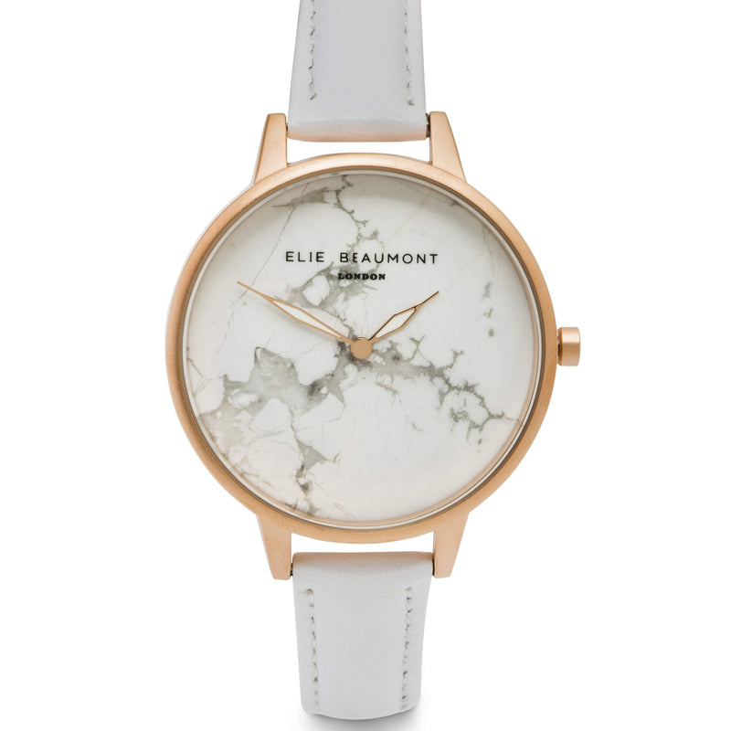 Elie Beaumont Ladies Richmond Watch - EB812 WHITE