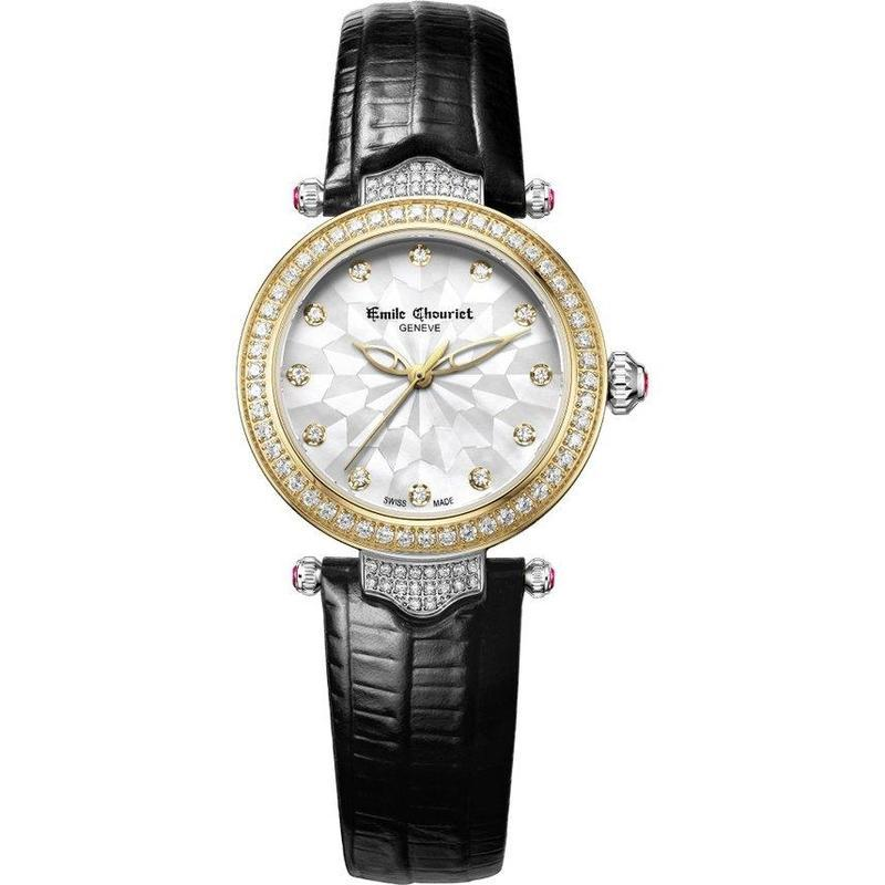 Emile Chouriet Fair Lady Automatic Women's Watch - 06-2188-l-6-j-82-2