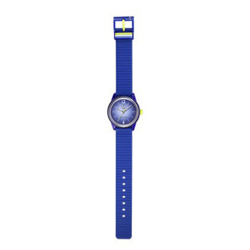 Q&Q SmileSolar Blue Solar Unisex Watch - RP18J010Y