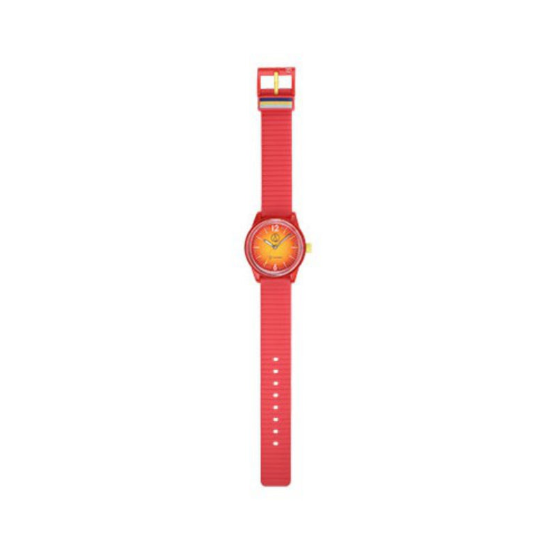 Q&Q SmileSolar Pink Solar Unisex Watch - RP18J013Y