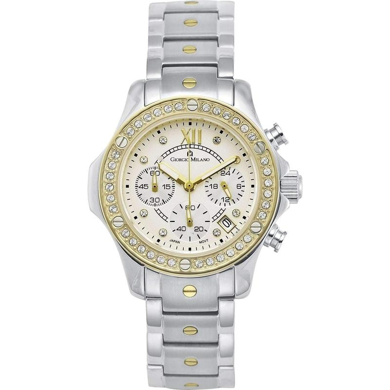 Giorgio Milano Chronograph Stainless Steel Ladies Watch - 814STG02