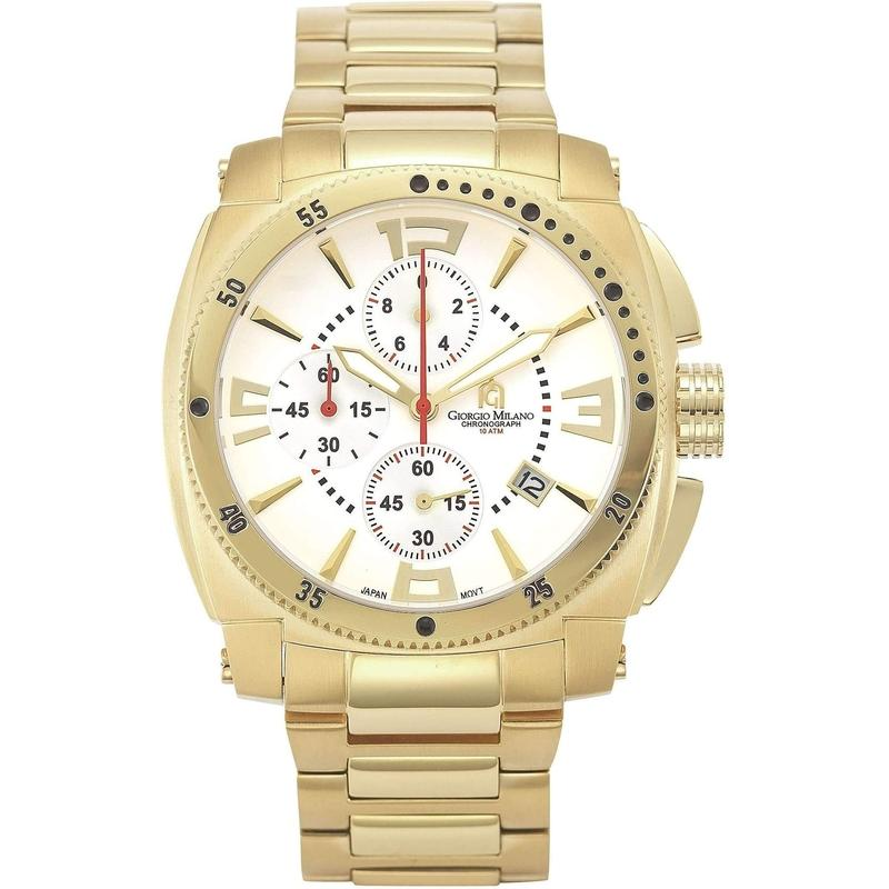 Giorgio Milano Chronograph Stainless Steel Mens Watch - 850SG02