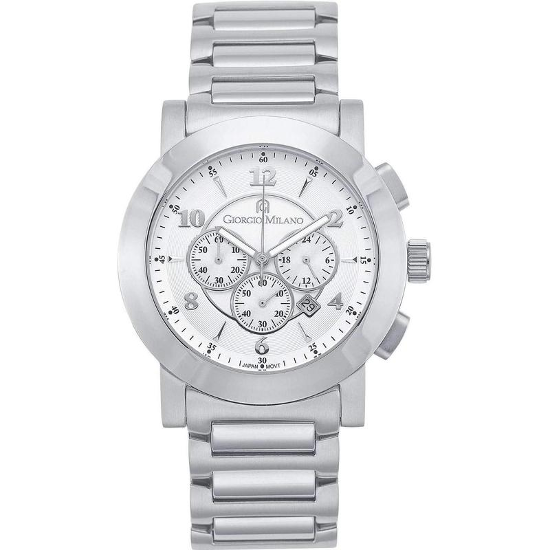 Giorgio Milano Chronograph Stainless Steel Unisex Watch - 948st02