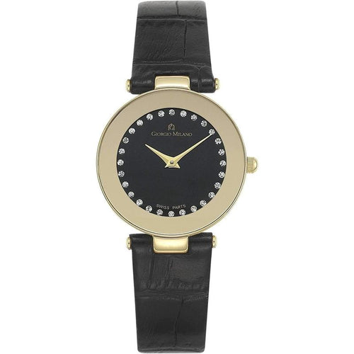 Giorgio Milano Slim Leather Ladies Watch - 776SG032