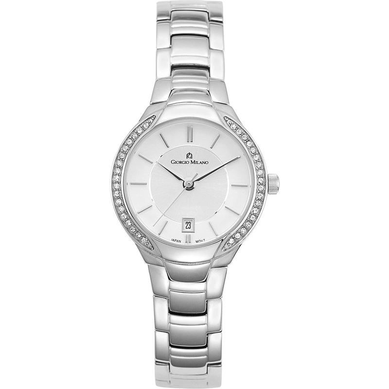Giorgio Milano Slim Stainless Steel Ladies Watch - 842ST02