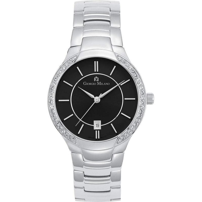 Giorgio Milano Slim Stainless Steel Ladies Watch - 845ST03