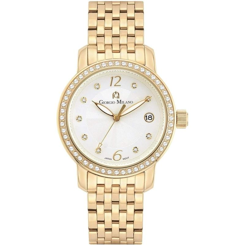 Giorgio Milano Stainless Steel Ladies Watch - 978RG02