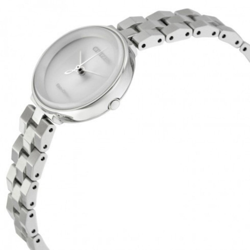 Citizen Ladies Silver Eco-Drive Stainless Steel Watch - EM0600-87A
