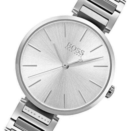 Hugo Boss Allusion Silver Stainless Steel Ladies Watch - 1502414