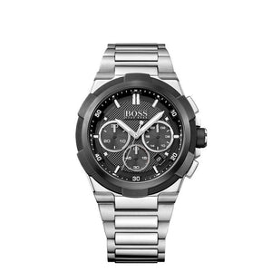 Hugo Boss Black Supernova Chronograph Stainless Steel Mens Watch - 1513359
