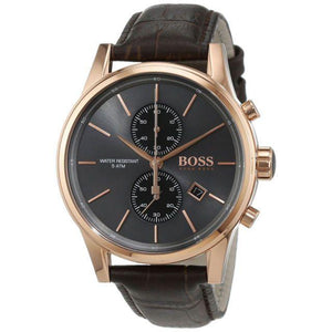 Hugo Boss Brown Leather Mens Watch - 1513281-The Watch Factory Australia