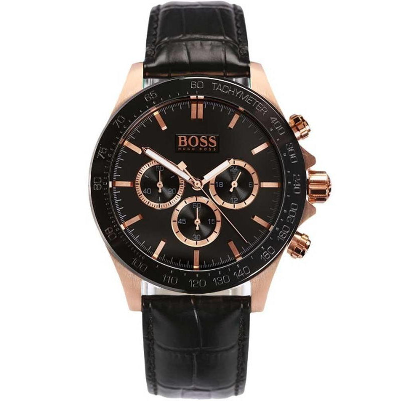 Hugo Boss IKON Quartz Mens Chronograph 1513218-The Watch Factory Australia
