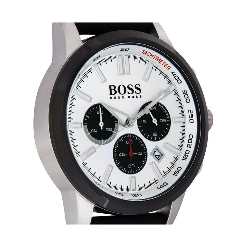Hugo Boss Men's Black Racing Watch - 1513185-The Watch Factory Australia