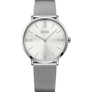 Hugo Boss Men's Jackson Steel Mesh Strap Watch - 1513459-The Watch Factory Australia