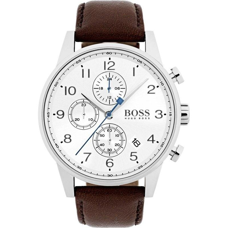 Hugo Boss Men's Navigator Watch - 1513495-The Watch Factory Australia