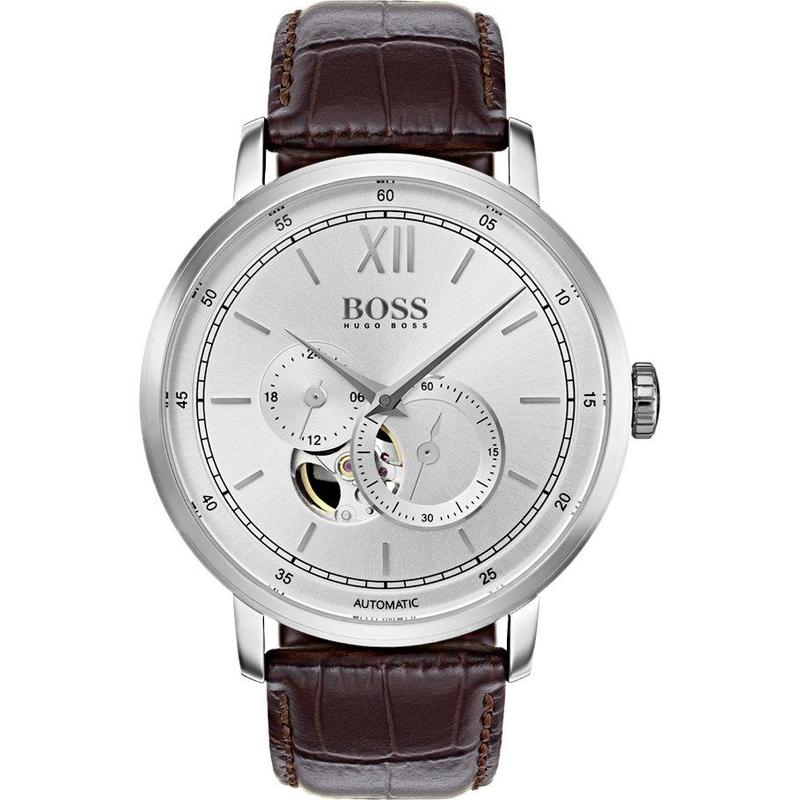 Hugo Boss Men's Signature Automatic Watch - 1513505-The Watch Factory Australia