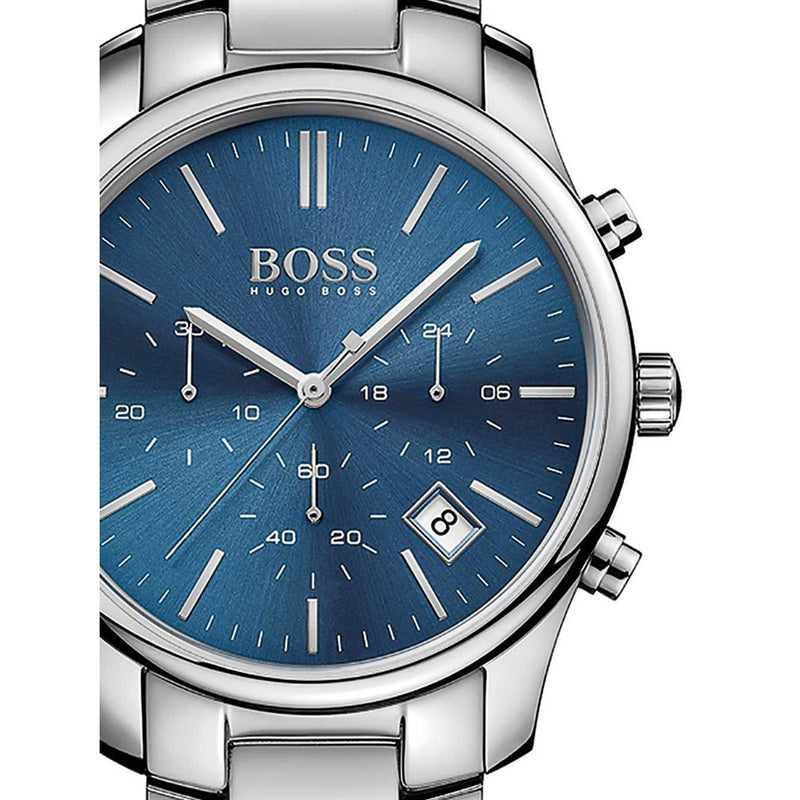 Hugo Boss Men's Steel Watch - 1513434-The Watch Factory Australia
