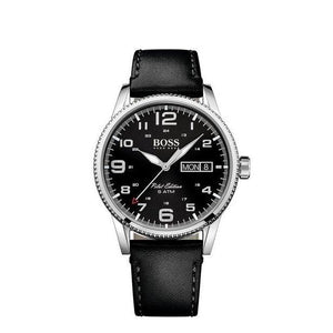 Hugo Boss PILOT VINTAGE Quartz Mens Day Date 1513330-The Watch Factory Australia