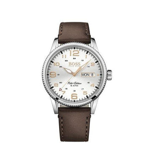 Hugo Boss PILOT VINTAGE Quartz Mens Day Date 1513333-The Watch Factory Australia