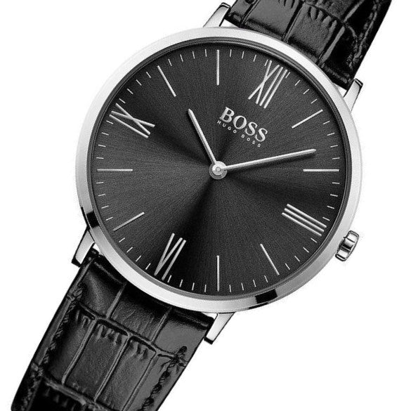 Hugo Boss The Jackson Men S Leather Watch 1513369