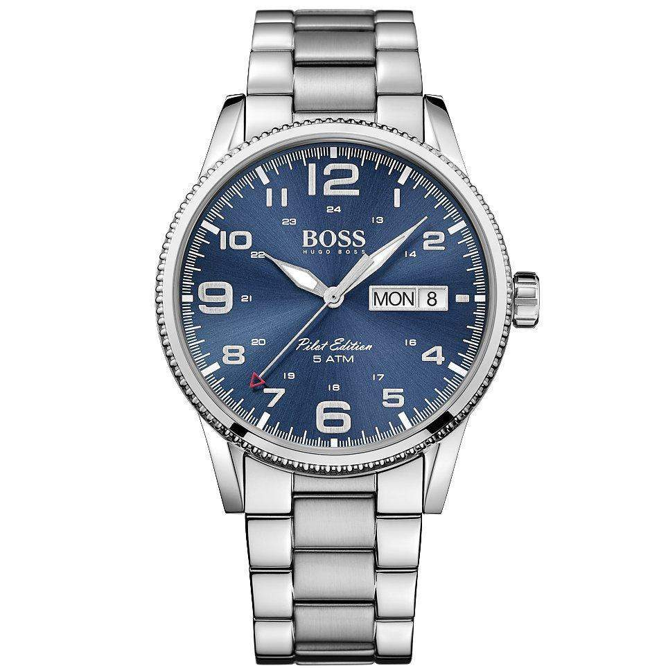 Hugo Boss The Pilot Men's Watch - 1513329-The Watch Factory Australia