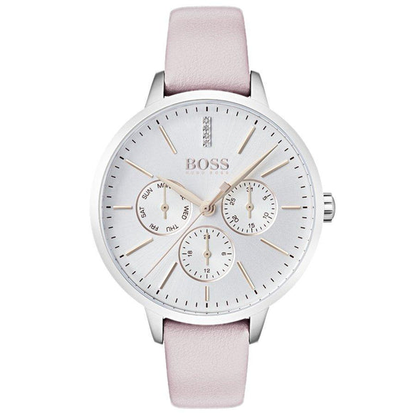 Hugo Boss Women's Symphony Leather Watch - 1502419-The Watch Factory Australia