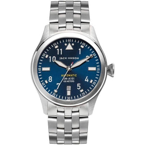Jack Mason Aviator Automatic Stainless Steel Mens Watch - JM-A101-106