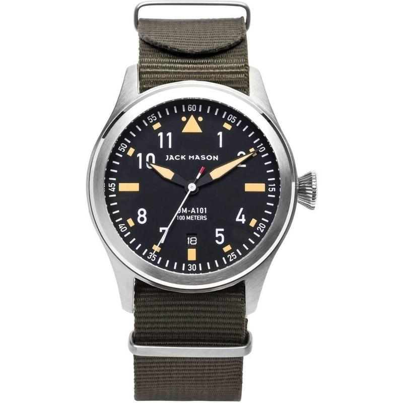 Jack Mason Aviator Nato Mens Watch - JM-A101-007