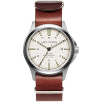 Jack Mason Field Leather Mens Watch - JM-F101-005
