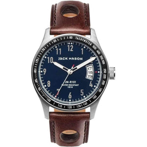 Jack Mason Racing Leather Mens Watch - JM-R101-001