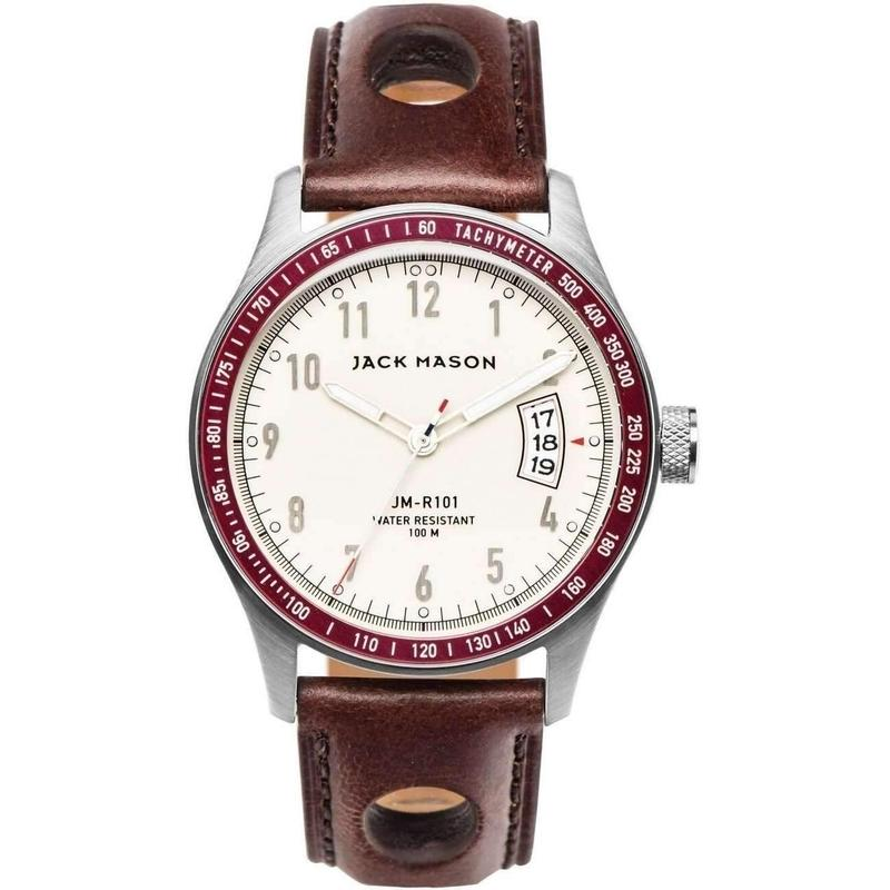 Jack Mason Racing Leather Mens Watch - JM-R101-003