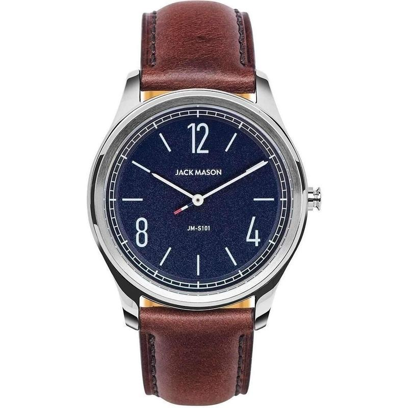 Jack Mason Slim Leather Mens Watch - JM-S101-002