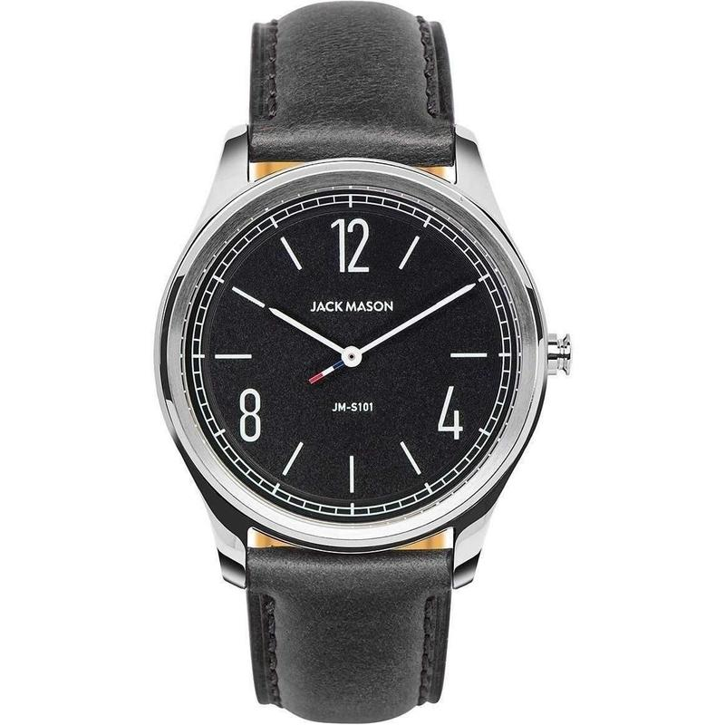 Jack Mason Slim Leather Mens Watch - JM-S101-003