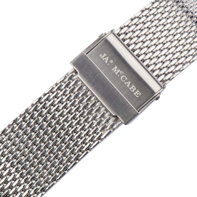 James McCabe London Slim Mesh Mens Watch - JM1016BB