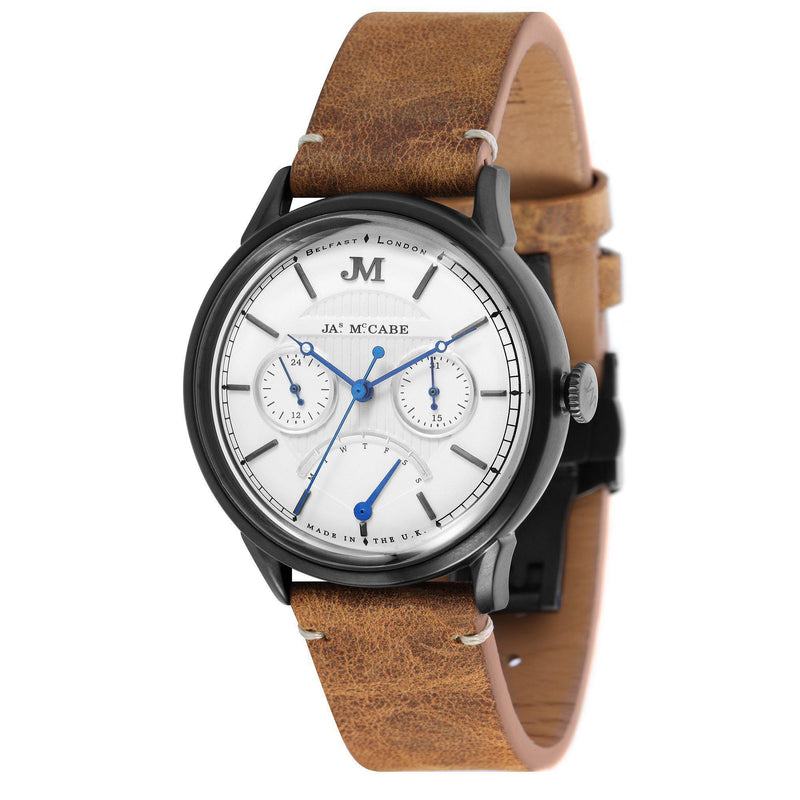 James McCabe Men's HERTIAGE Retrograde II Watch - JM-1026-06