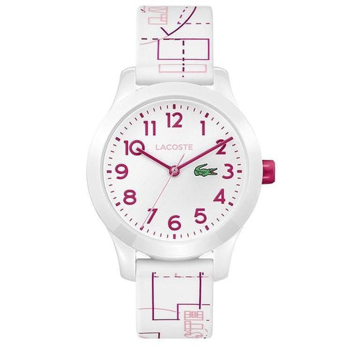 Lacoste 12.12 White Classic Kids Watch - 2030009