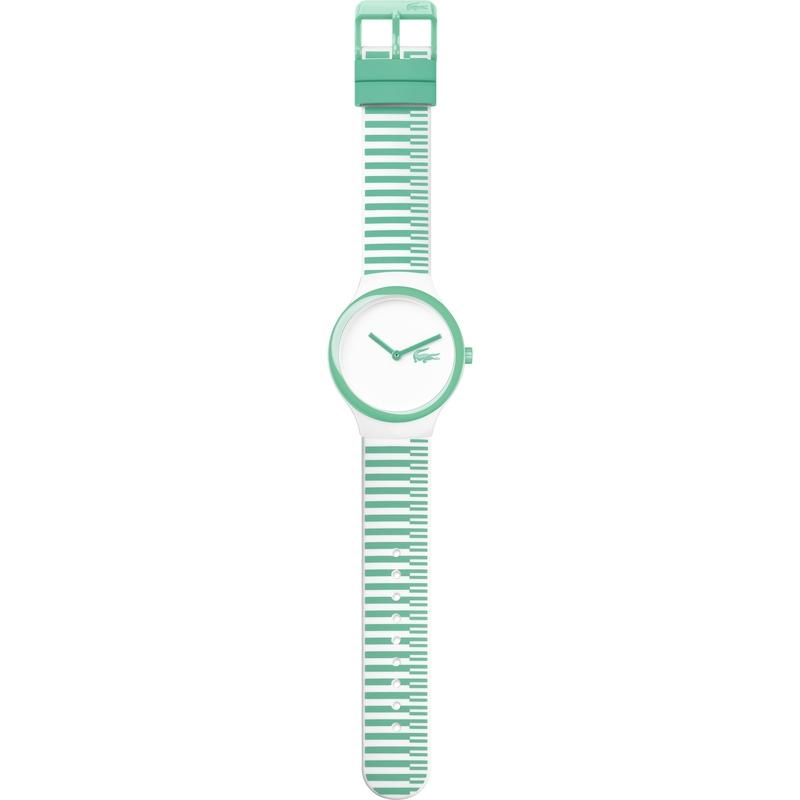 Lacoste Goa New White Silicone Unisex Watch - 2020117
