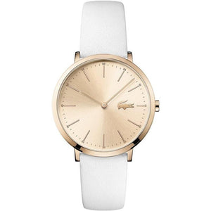 Lacoste Moon White Leather Ladies Watch - 2000949