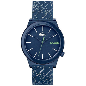 Lacoste Motion Blue Silicon Men's Watch - 2010957
