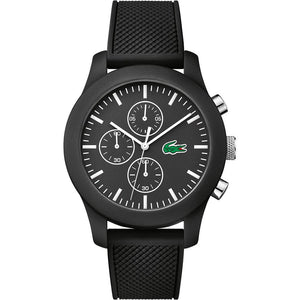 Lacoste The .12.12 Black Silicon Watch - 2010821