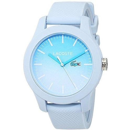 Lacoste The .12.12 Blue Silicone Ladies Watch - 2000989
