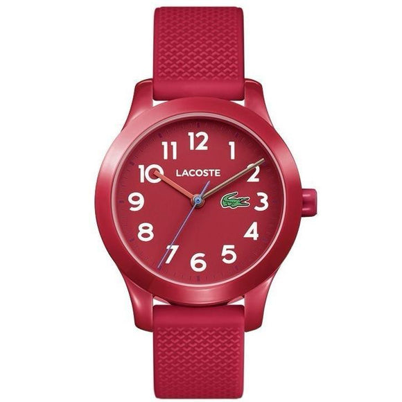 Lacoste The 12.12 Red Kids Watch - 2030004-The Watch Factory Australia