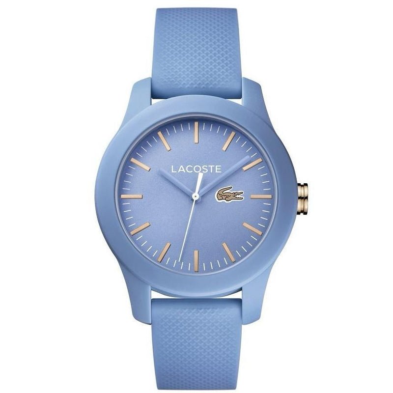 Lacoste The .12.12 Sky Blue Silicone Watch - 2001004