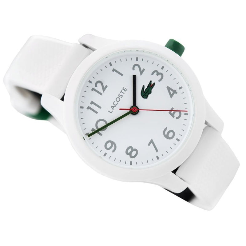 Lacoste The .12.12 White Silicon Kids Watch - 2030003