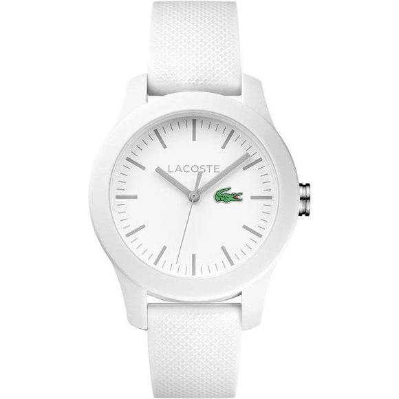 Lacoste The .12.12 White Silicone Ladies Watch - 2000954-The Watch Factory Australia