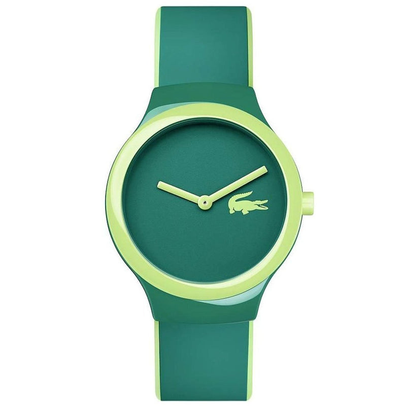 Lacoste The Goa Green Silicone Watch - 2020119