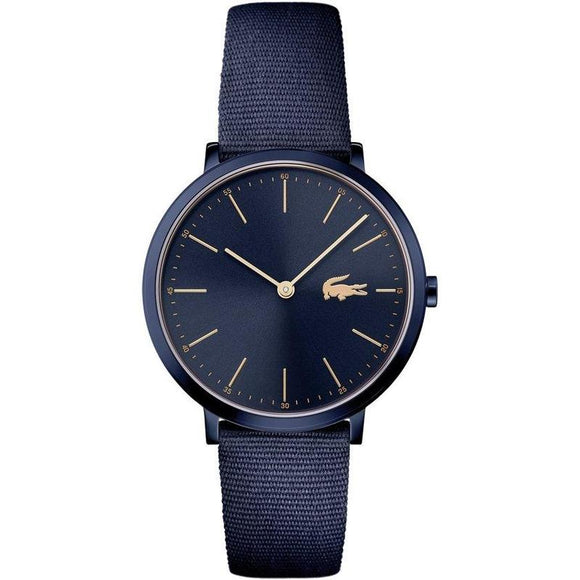 Lacoste The Moon Woven Navy Nylon Ladies Watch - 2000999